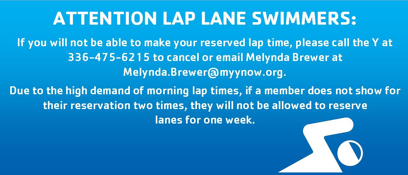 Attention Lap Lane Swimmers